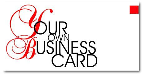 Your Own Business Card. TRUTORIAL FOR BEGINNERS - http://yobc.narod.ru
